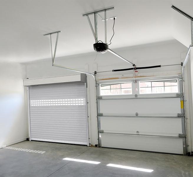 Serrande avvolgibili coibentate per garage conegliano - Porta garage scorrevole ...